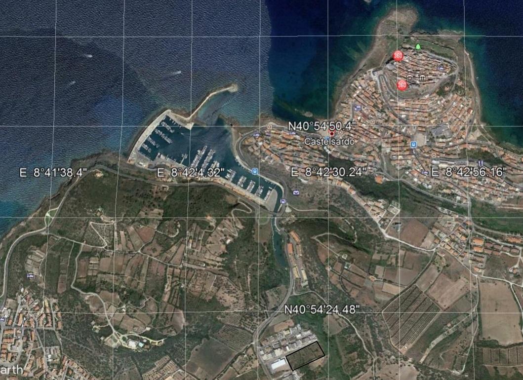 Area edificabile Zona ind.le Castelsardo